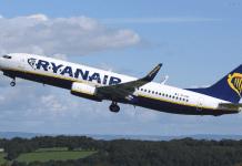 ryanair lotniska w anglii
