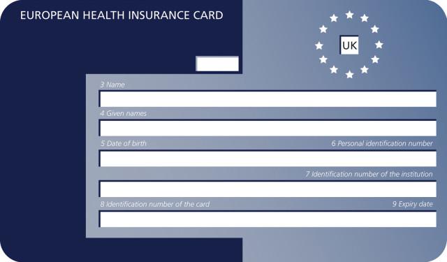 Karta Ubezpieczenia Europa.Ehic Card Darmowa Karta Ubezpieczenia Zdrotownego Na 5 Lat